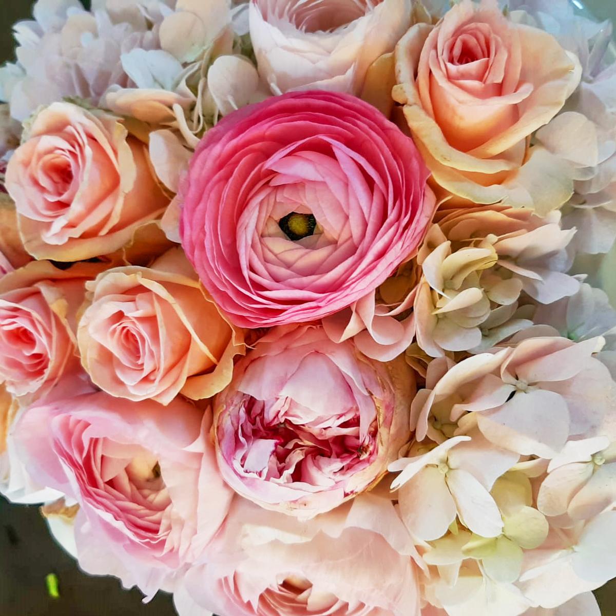 schöner Blumenstrauss - Denise Wolff - Am Blummegaertchen